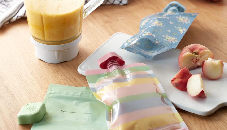 Domácí kapsičky pro děti ve slaném isladkém provedení