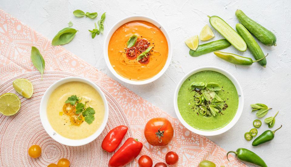 Studené polévky jsou letní hit! Tři vyladěné recepty iuniverzální návod