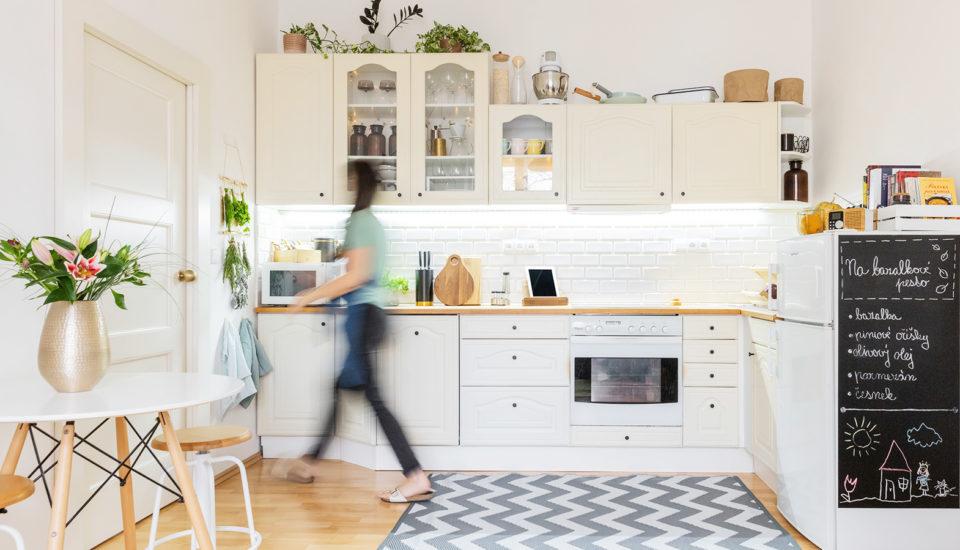 Jak jsem si udělala kuchyň posvém, ikdyž ve svém ještě nebydlím