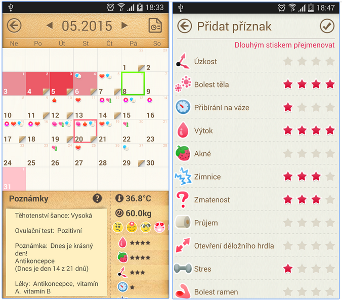 menstruacni kalendar