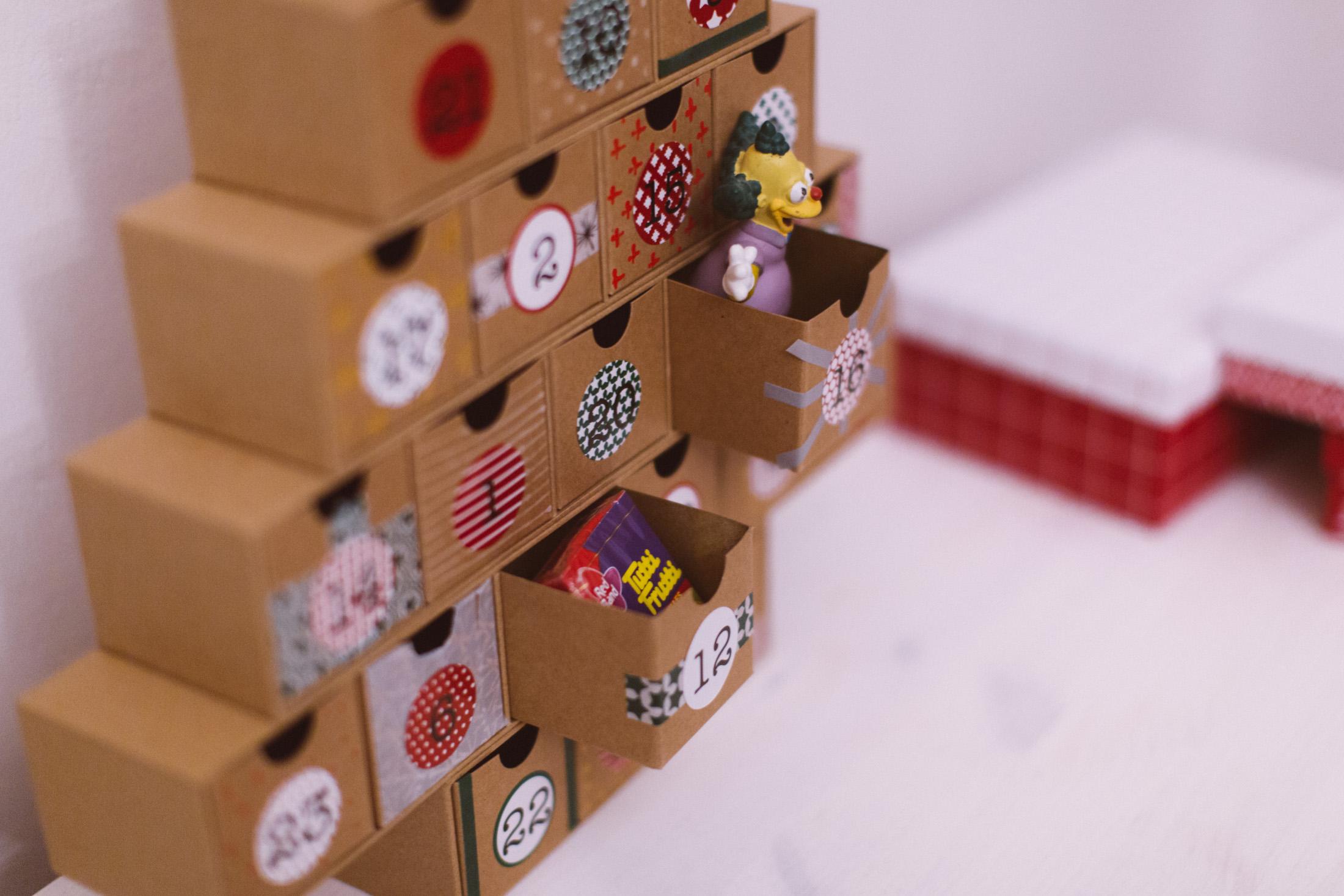 adventni kalendar tchibo Vytvořte si originální adventní kalendář – Tchibo adventni kalendar tchibo