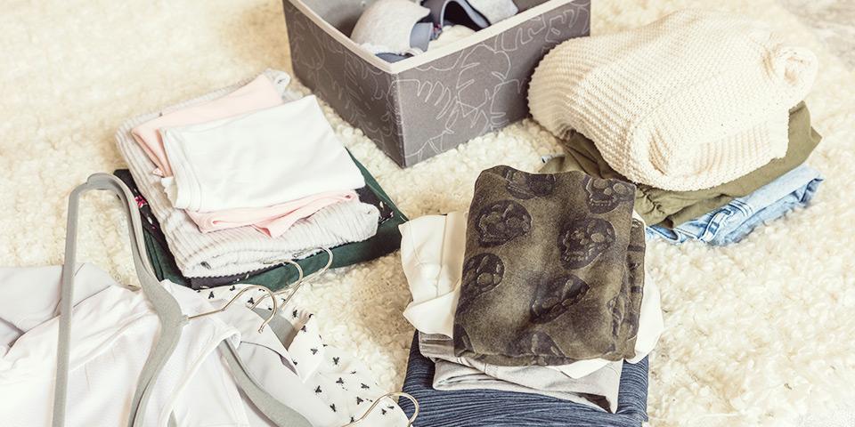 Jak vytřídit oblečení?