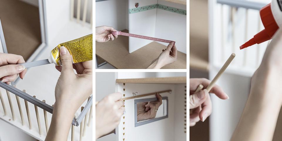 Dokončování domečku (ilustrační fotka)