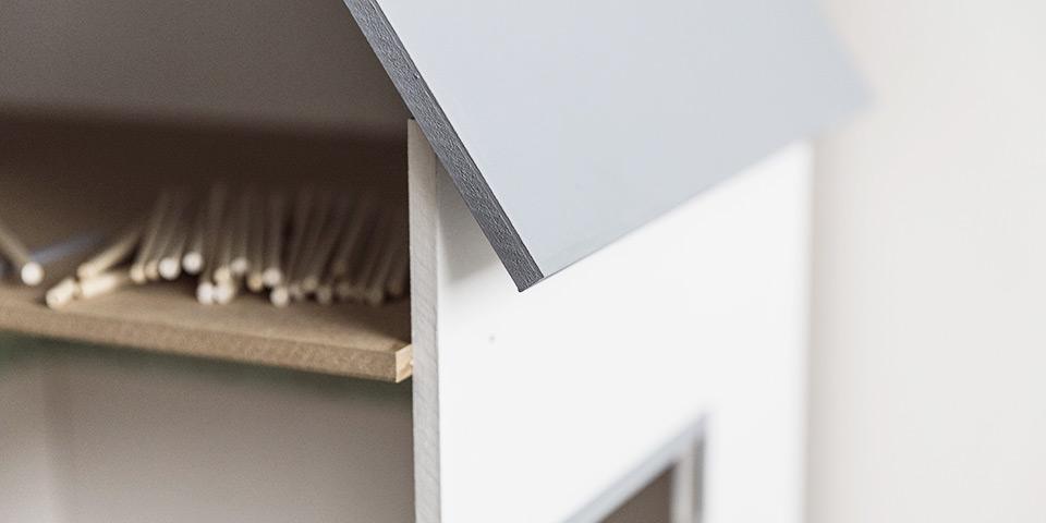 Domeček pro panenky, který si vyrobíte doma (ilustrační fotka našeho domečku)