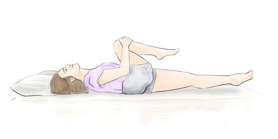 Propnutí nohy (ilustrační obrázek)