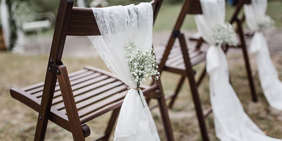 Venkovní svatba (ilustrační foto)