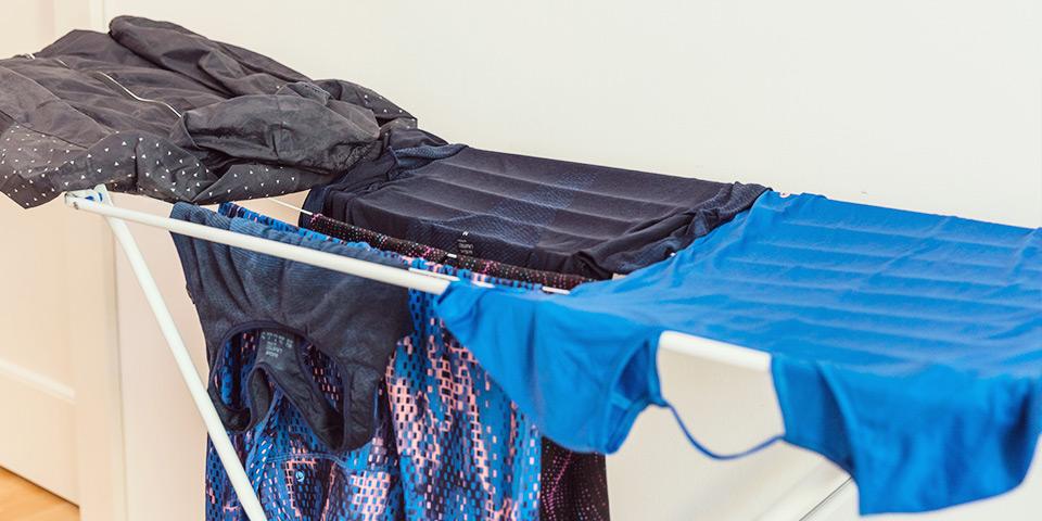 Funkční prádlo sušte na vzduchu